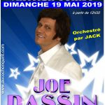 Arthur JORKA sosie JOE DASSIN / Dimanche 19 mai 2019 (cliquez ici pour plus d'info)