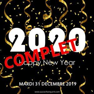 NUIT DE LA ST SYLVESTRE / Mardi 31 décembre 2019 (complet)