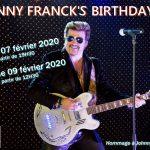 JOHNNY FRANCK sosie JOHNNY HALLYDAY / Vendredi 07 février 2020 (cliquez ici pour plus d'info)