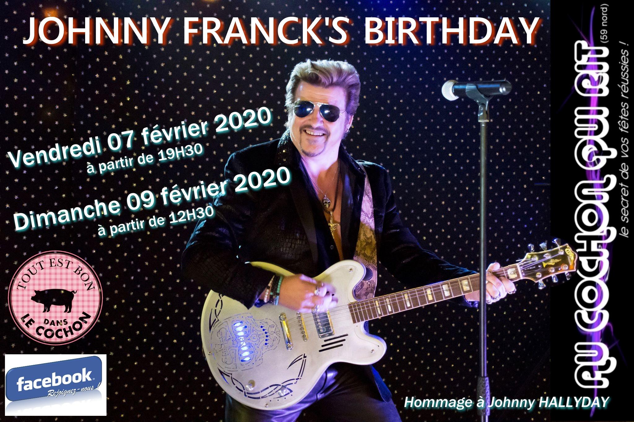 JOHNNY FRANCK sosie JOHNNY HALLYDAY / Dimanche 09 février 2020 (cliquez ici pour plus d'info)