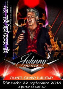 JOHNNY FRANCK sosie JOHNNY HALLYDAY / Dimanche 22 septembre (cliquez ici pour plus d'info)