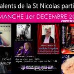 Les talents de la St Nicolas partie n°5 / Dimanche 1er décembre 2019 (cliquez ici pour plus d'info)