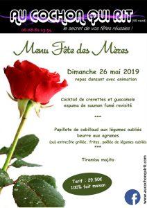 Fête des mères (menu)