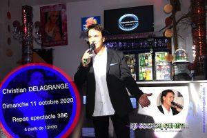 Christian DELAGRANGE dimanche 11 octobre 2020 (cliquez ici pour plus d'info)