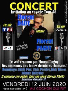 Florent DADY sosie officiel de Florent PAGNY Vendredi 12 juin 2020 (cliquez ici pour plus d'info)